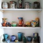 My grandmother's lovely pottery.