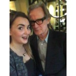 With Bill Nighy.