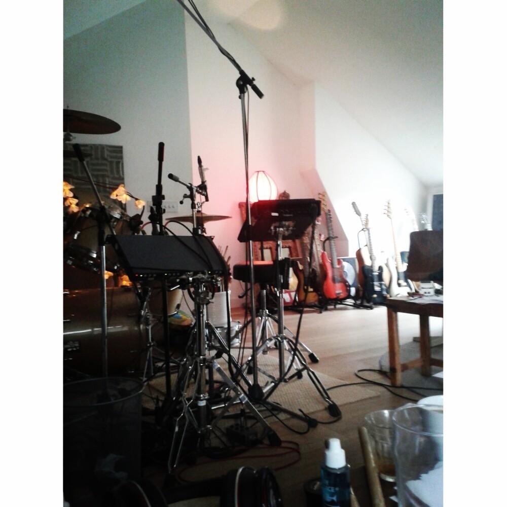 John Reynolds' studio.